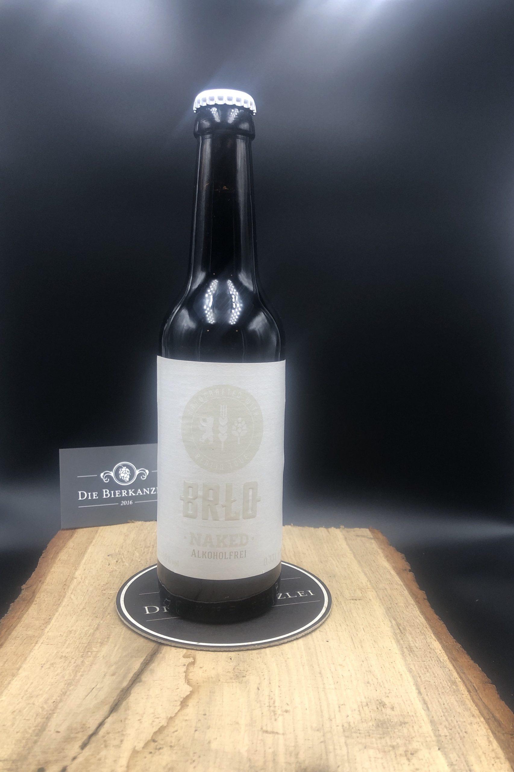 BRLO Bier Craft Beer - NAKED - Alkoholfrei im Biershop